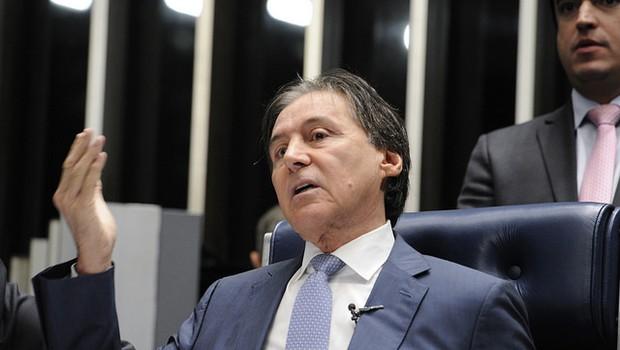O presidente do Senado Federal, Eunício Oliveira (PMDB-CE) (Foto: Edilson Rodrigues/Agência Senado)