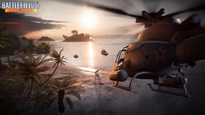 Battlefield 4 ganhará novo DLC Naval Strike com novas batalhas marítimas. (Foto: Divulgação)
