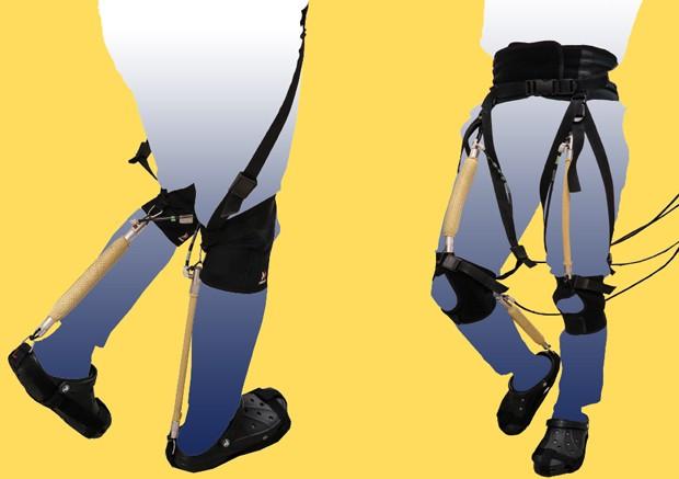 Endoesqueleto da Bridgestone está em fase de protótipo (Foto: Divulgação)