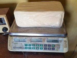 De acordo com militares, queijo era comercializado na região (Foto: Arquivo pessoal)