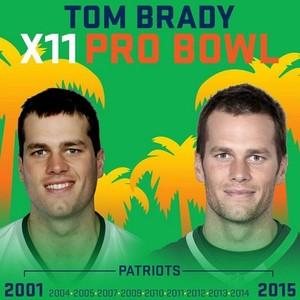 Tom Brady vai ao Pro Bowl pela 11ª vez (Foto: Reprodução/Instagram)