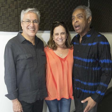Caetano, Leticia Muhana e Gil (Foto: João Franco)