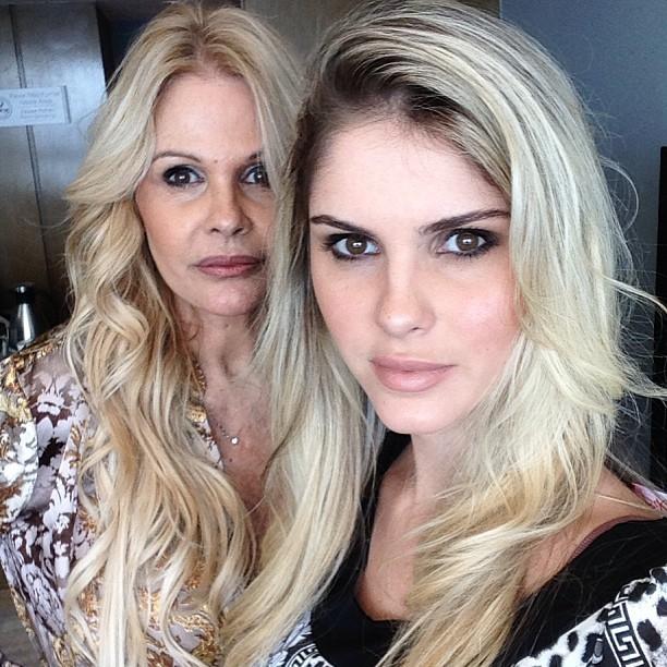 Bárbara Evans e Monique Evans (Foto: Instagram / Reprodução)