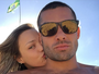 Yuri Fernandes se declara para a namorada, Alline Marin