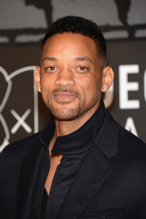 Will Smith (46) - MIB: Homens de Preto (1997); Eu, Robô (2004); À Procura da Felicidade (2006) (Foto: Getty Images)