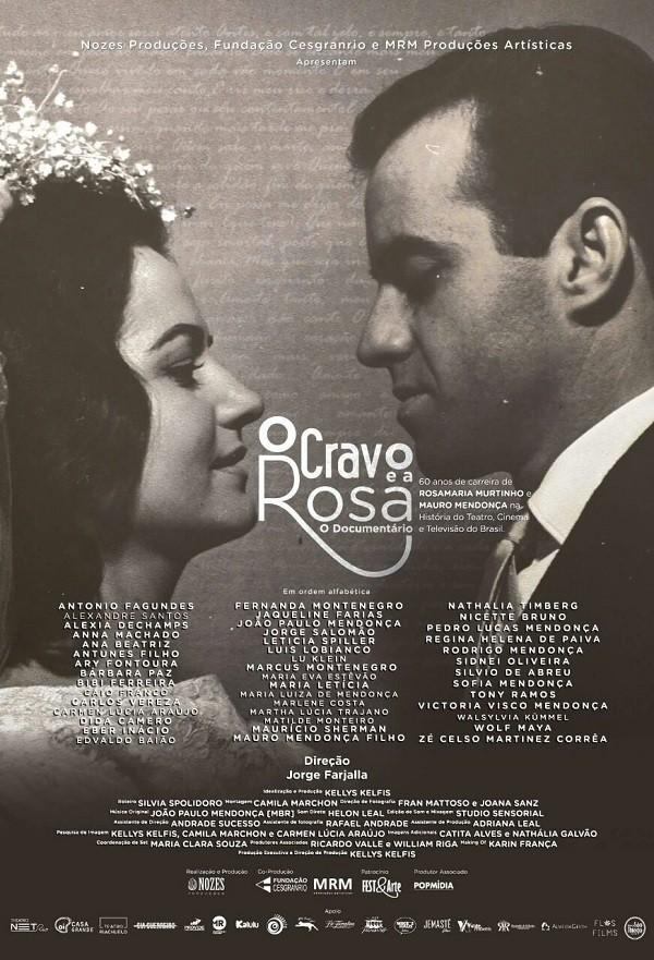 Cartaz do filme traz uma foto do casamento de Rosa e Mauro (Foto: Reprodução)