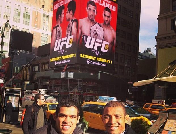 Renan Barão e José Aldo (Foto: Reprodução / Facebook)