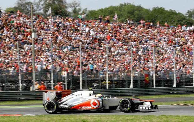 Hamilton treino Monza GP Itália (Foto: AP)
