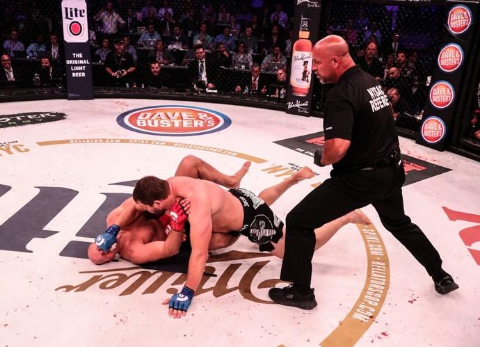 Matt Mitrione x Fedor Emelianenko (Foto: Bellator MMA / Lucas Noonan)