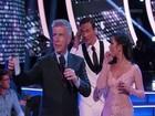 Homens invadem reality show de dança e protestam contra Ryan Lochte