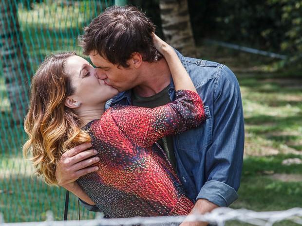 O casal se tornou querido do público durante a trama (Foto: Artur Meninea/ Gshow)