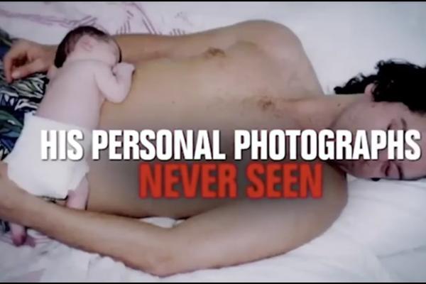 Uma cena do trailer do documentário sobre o músico Michael Hutchence (Foto: Reprodução)