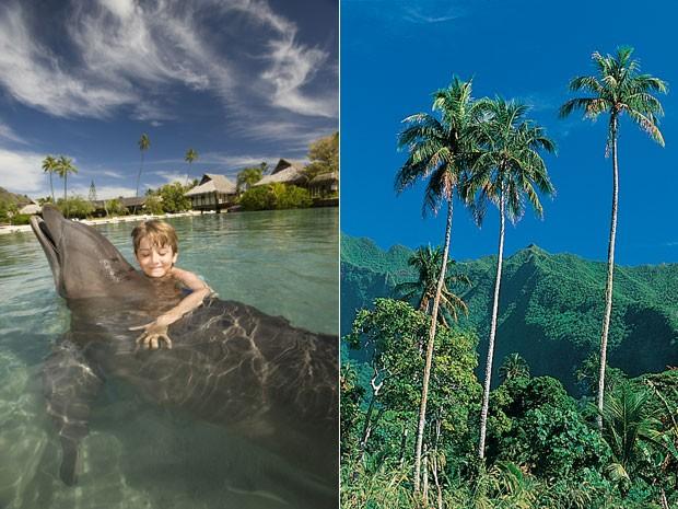 Ilha de Moorea, na Polinésia Francesa (Foto: Tahiti Tourism/Divulgação)