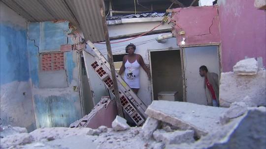 Vídeo mostra moradores atingidos por muro derrubado na Cracolândia