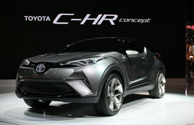 Toyota C-HR no Salão de Tóquio (Foto: Newspress)