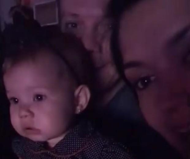 Melinda, filha de Michel Teló e Thaís Fersoza (Foto: Reprodução/Instagram)