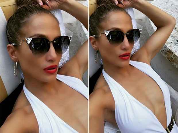 Jennifer Lopez em festa em Las Vegas, nos Estados Unidos (Foto: Instagram/ Reprodução)