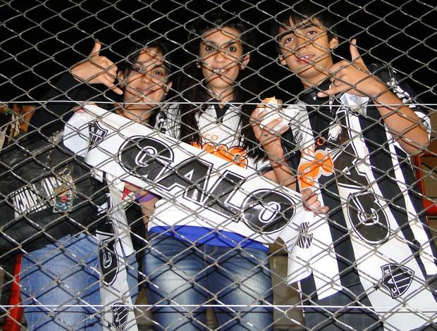 Família argentina fã de Ronaldinho Gaúcho (Foto: Fernando Martins)