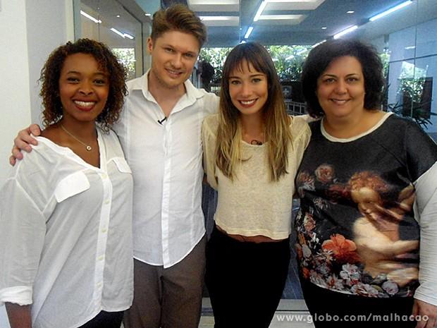 Flavia Rubim clareou os fios para ganhar um ar moderno (Foto: Malhação / TV Globo)