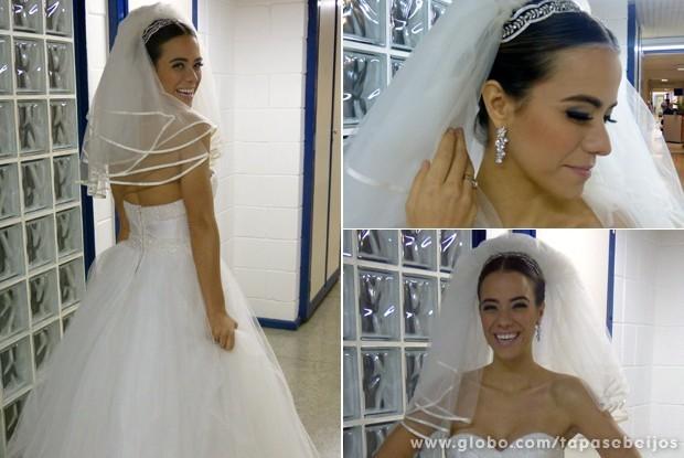 Detalhes da produção da personagem Alessandra (Foto: Tapas & Beijos / TV Globo)