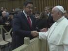 Juiz Bretas pede a Papa que continue a se manifestar contra a corrupção