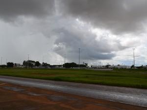 Pancadas de chuva pode cair a qualquer momento no Cone Sul de Rondônia (Foto: Dennis Weber/G1)