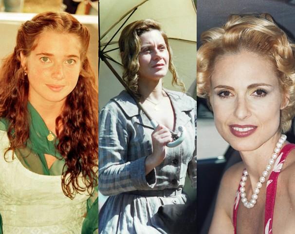 Letícia Spiller, Vera Fischer e Sílvia Pfeifer também estavam no elenco de O Rei do Gado, de 1996 (Foto: CEDOC Globo)