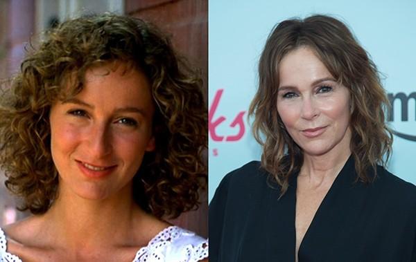 Jennifer Grey em 1987 e 2015 (Foto: Reprodução / Getty Images)