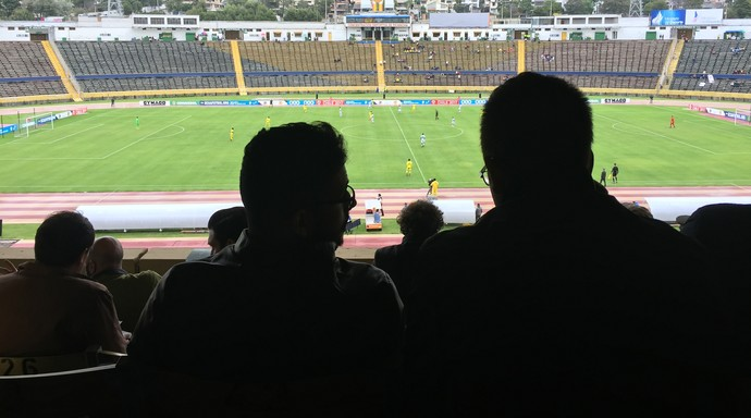 Gigantes europeus monitoram Sul-Americano Sub-20 (Foto: Lucas Loos / GloboEsporte.com)