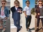 Pequenos e na moda: veja as crianças superestilosas que fazem sucesso nas redes sociais