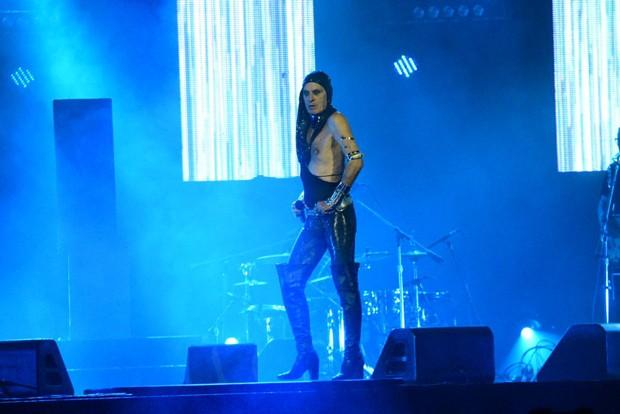 Ney Matogrosso em apresentação em SP (Foto: Divulgação)