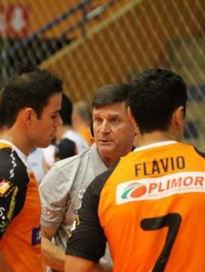 Técnico Carlos Barbosa Paulinho Sananduva futsal (Foto: Renato Zaro/Jornal de Carlos Barbosa)