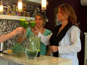 Vida e Saúde dá dica de suco desintoxicante (Foto: Reprodução/RBS TV)