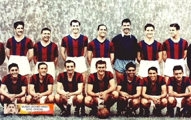 time San Lorenzo 1946 reprodução (Foto: Reprodução / Museo Jacobo Urso)