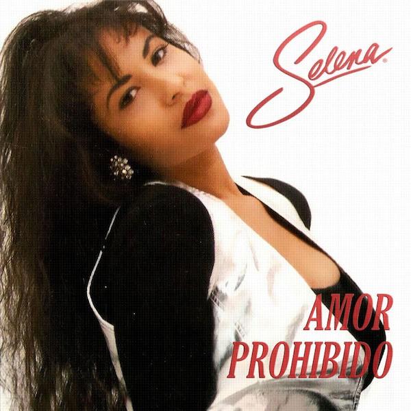 A cantora Selena Quintanilla na capa de um de seus discos (Foto: Reprodução)