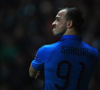 Shaqiri Celtic x Inter de Milão (Foto: Getty Images)