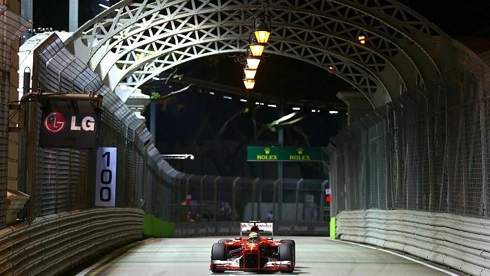 Felipe Massa treino Cingapura