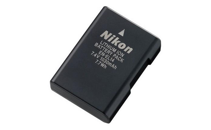 Bateria recarregável para câmera Nikon EN-EL14(Foto: Divulgação/Nikon)