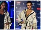 Glória Maria fala sobre escolha de look igual ao de Débora Nascimento