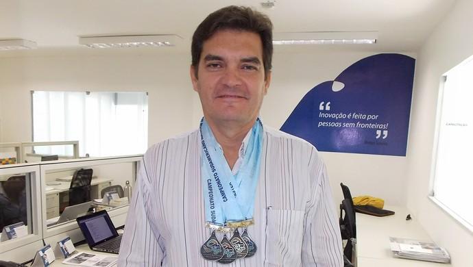 Pinto Neto, atleta, natação, cearense, master (Foto: Divulgação)