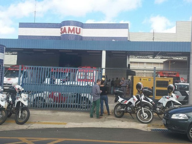 Médico do Samu atirou em outro e depois se matou na unidade de Piracicaba  (Foto: Claudia Assencio/G1)