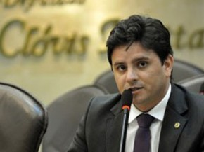 Carlos Augusto Maia é deputado estadual do PROS (Foto: João Gilberto/ALRN)