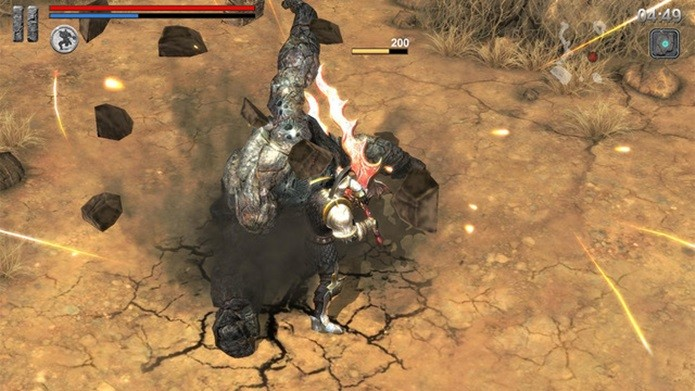 Com dificuldade elevada, Ire: Bloody Memory é o conhecido como o Dark Soul para celulares (Foto: Divulgação)