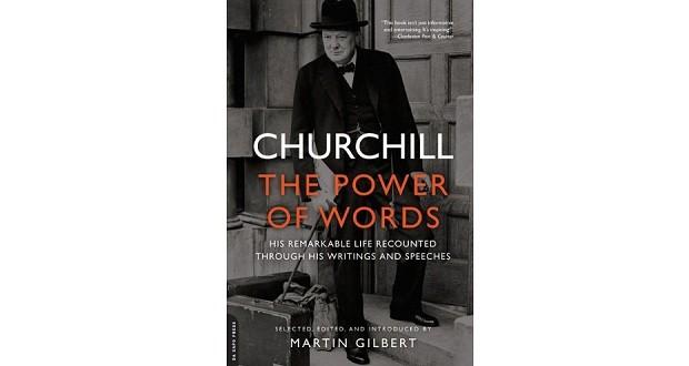 Capa do livro Churchill: The Power of Words, de Martin Gilbert (Foto: Divulgação)