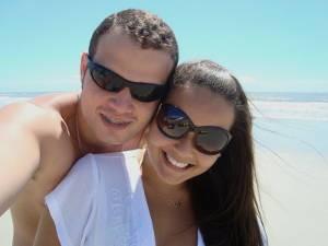 Camila e João iniciaram o romance em Salinas (Foto: Arquivo pessoal)