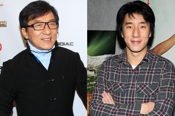 Jackie Chan e Jaycee Chan (Foto: Getty Images)