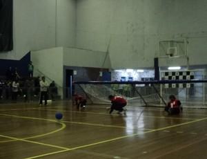 Goalball Uberlândia, durante Campeonato Regional Sudeste I de Goalball (Foto: Arquivo Pessoal)