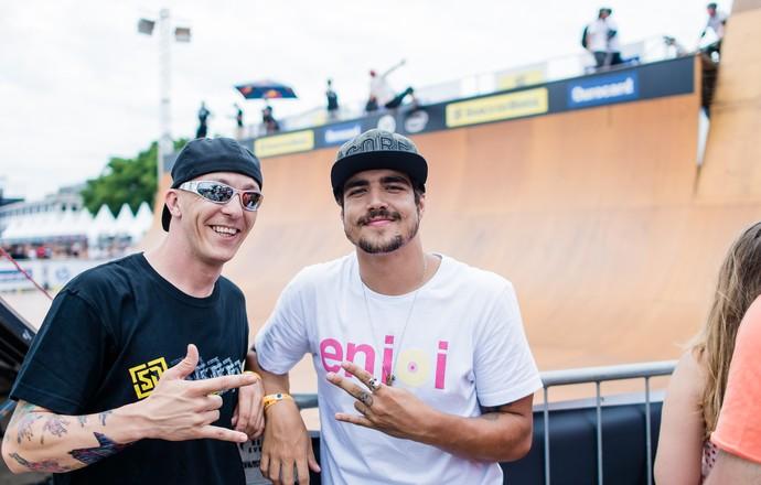 Caio Castro skate vertical Copa Brasil SP (Foto: Franciso Costa/Divulgação)