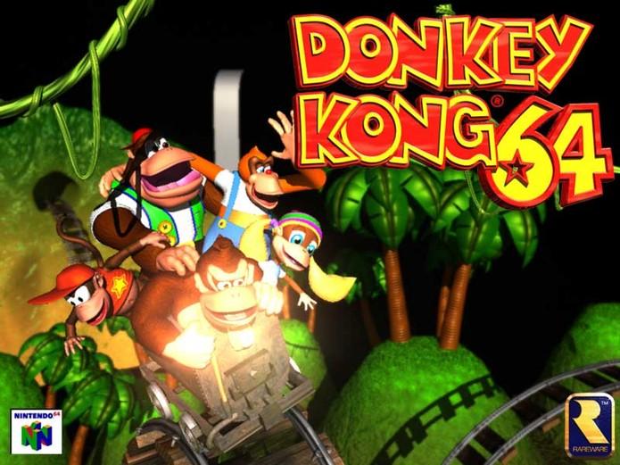 Donkey Kong 64 (Foto: Divulgação/Rare)