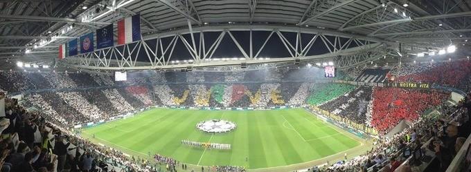 Juventus x Monaco, Liga dos Campeões (Foto: Reprodução / Twitter)